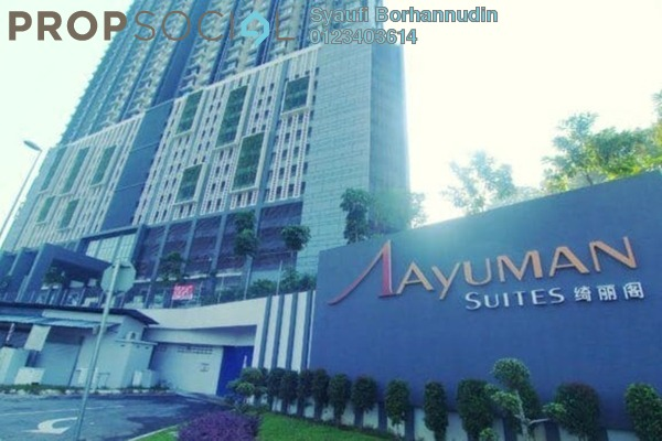 For Sale Condominium at Ayuman Suites, Gombak Freehold Semi Furnished 3R/2B 350k