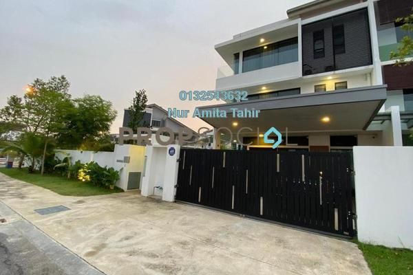 Terrace For Sale in Bukit Raja Industrial Park, Klang Freehold Semi Furnished 5R/6B 1.6m