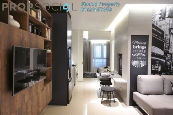 Condominium For Sale in PV18 Residence, Setapak Freehold Unfurnished 3R/2B 489k