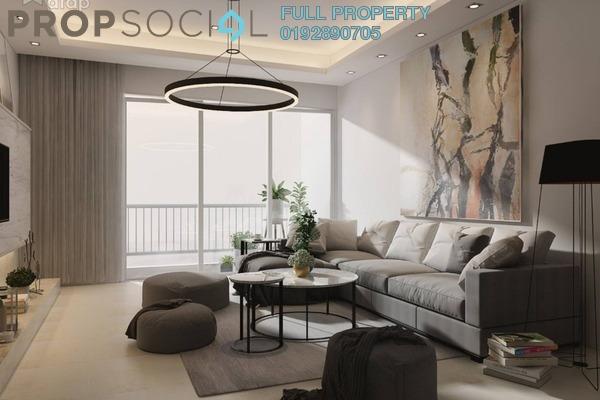 Condominium For Sale in MH Platinum Residency, Setapak Leasehold Unfurnished 2R/2B 318k