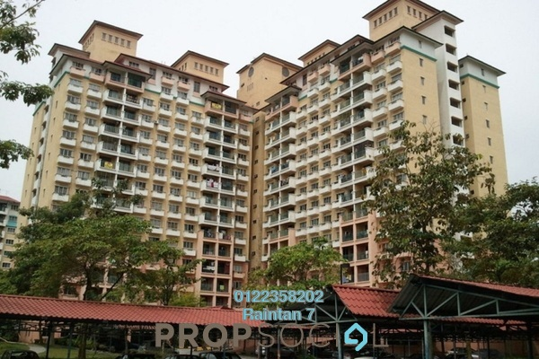 For Rent Apartment at Arena Green, Bukit Jalil Freehold Semi Furnished 2R/1B 1.15k