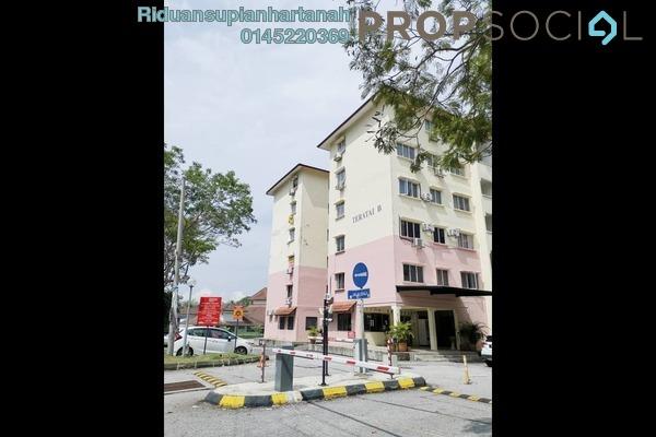 Apartment For Rent in Gugusan Teratai, Kota Damansara Freehold Semi Furnished 3R/2B 1.2k