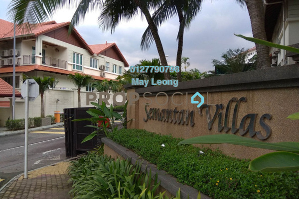 Semi-Detached For Sale in Semantan Villas, Damansara Heights Freehold Unfurnished 4R/4B 4.2m
