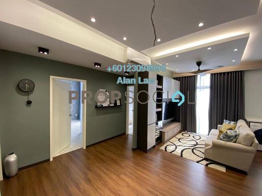 Serviced Residence For Sale in Lexa Residence @ The Quartz, Wangsa Maju Freehold Semi Furnished 2R/2B 510k