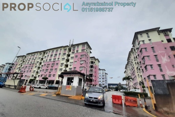 Apartment For Sale in Salvia Apartment, Kota Damansara Freehold Semi Furnished 3R/2B 350k