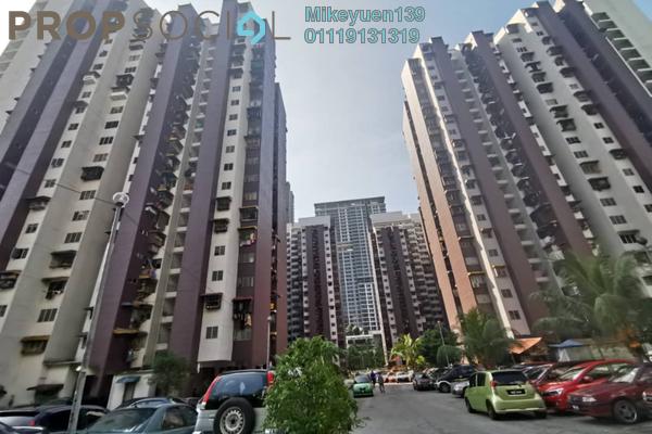Apartment For Sale in Kondo Rakyat, Pantai Freehold Unfurnished 3R/2B 185k