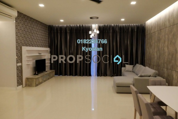 Condominium For Rent in Reflection Residences, Mutiara Damansara Freehold Fully Furnished 3R/2B 4.5k