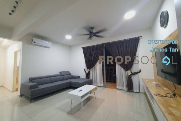 Serviced Residence For Rent in Saville Residence, Old Klang Road Freehold Fully Furnished 3R/2B 2.3k