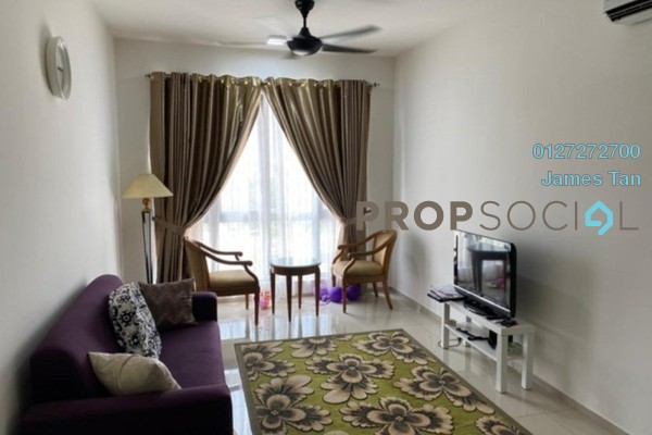Serviced Residence For Rent in Saville Residence, Old Klang Road Freehold Semi Furnished 3R/2B 1.5k