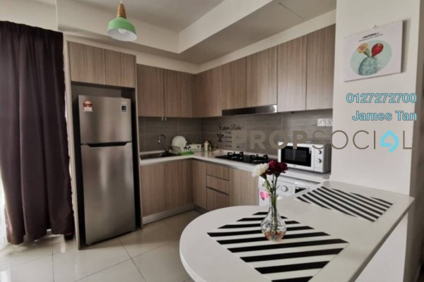 Serviced Residence For Rent in Saville Residence, Old Klang Road Freehold Fully Furnished 2R/2B 2k