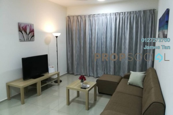 Serviced Residence For Rent in Saville Residence, Old Klang Road Freehold Fully Furnished 2R/1B 1.6k