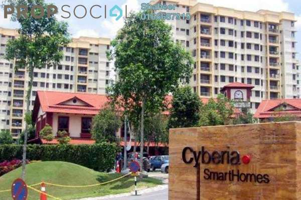 Apartment For Sale in Cyberia SmartHomes, Cyberjaya Freehold Fully Furnished 3R/2B 360k