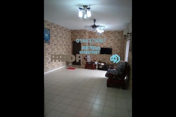 For Rent Apartment at Bandar Botanic, Klang Freehold Semi Furnished 3R/2B 1.1k