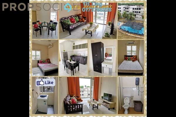 Apartment For Rent in Taman Melaka Baru, Batu Berendam Freehold Fully Furnished 3R/2B 900translationmissing:en.pricing.unit