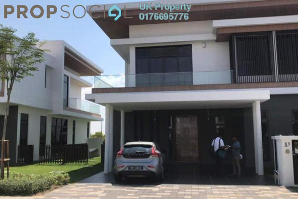 For Rent Semi-Detached at Monterey @ Eco Sanctuary, Telok Panglima Garang Freehold Semi Furnished 4R/5B 3.5k
