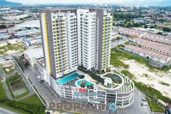 For Rent Condominium at D'Festivo Residences, Ipoh Freehold Fully Furnished 3R/2B 2.3k