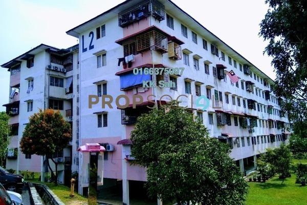 For Sale Apartment at Section 3, Bandar Mahkota Cheras Freehold Semi Furnished 3R/2B 135k
