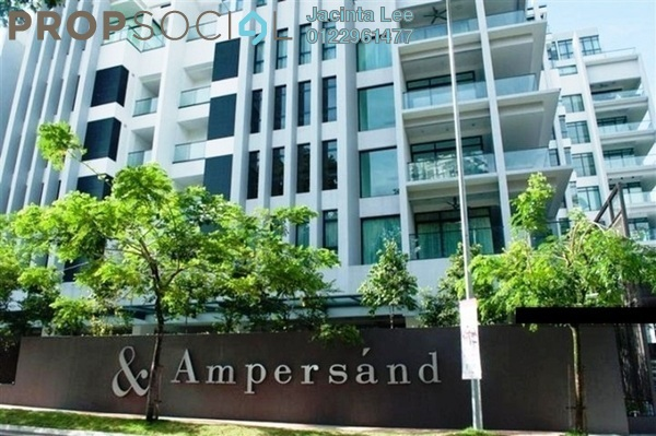 Condominium For Sale in Ampersand, KLCC Freehold Semi Furnished 5R/6B 1.48m