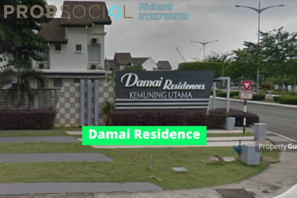 For Rent Terrace at Damai Residences, Kota Kemuning Freehold Unfurnished 4R/4B 1.6k