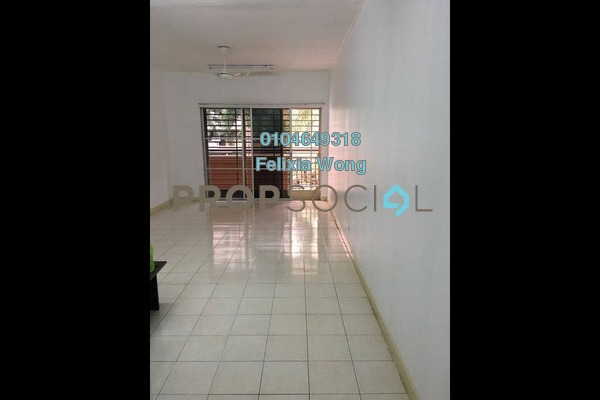 For Rent Condominium at Cengal Condominium, Bandar Sri Permaisuri Freehold Semi Furnished 3R/2B 1.3k