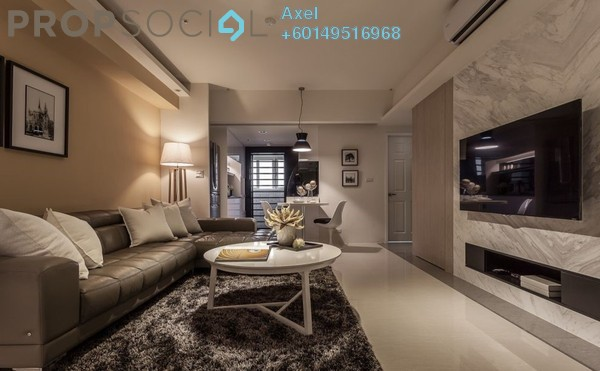 Condominium For Sale in Taman Billion, Cheras Freehold Fully Furnished 3R/3B 490k