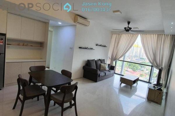 For Rent Condominium at The Capers, Sentul Freehold Fully Furnished 2R/2B 2.2k
