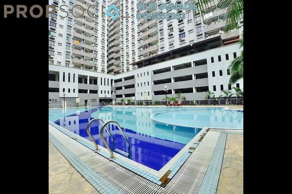 Condominium For Sale in Kinrara Mas, Bukit Jalil Freehold Fully Furnished 4R/2B 440k
