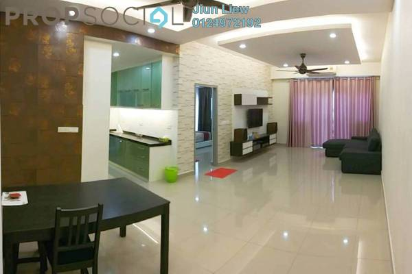 For Rent Condominium at The Wharf, Puchong Freehold Fully Furnished 3R/2B 1.8k