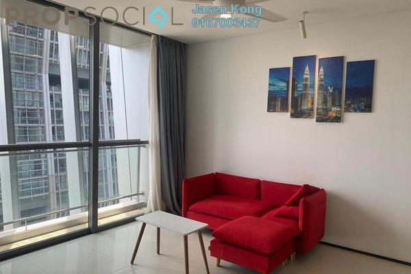 Condominium For Rent in The Fennel, Sentul Freehold Fully Furnished 3R/3B 2.4k