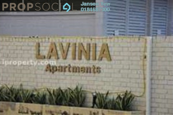 Condominium For Sale in Lavinia Apartment, Sungai Nibong Freehold Fully Furnished 4R/3B 839k