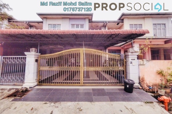 Terrace For Sale in Putra Intan, Dengkil Freehold Semi Furnished 4R/3B 540k