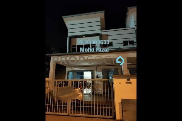 Terrace For Sale in Taman Intan Dengkil, Dengkil Freehold Semi Furnished 4R/4B 620k