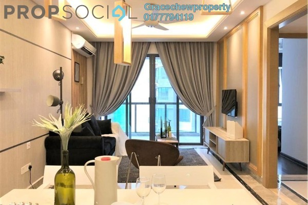 Serviced Residence For Rent in R&F Princess Cove, Johor Bahru Freehold Fully Furnished 2R/1B 2.2k