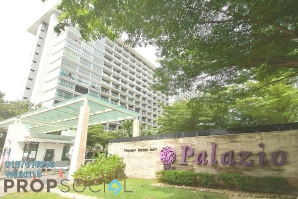 Condominium For Rent in Palazio, Tebrau Freehold Fully Furnished 0R/1B 800translationmissing:en.pricing.unit