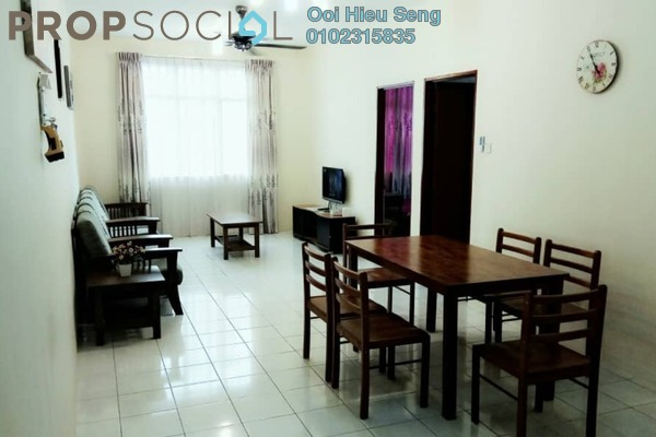 For Sale Apartment at Angkasa Apartment, Kota Kinabalu Freehold Fully Furnished 3R/2B 330k