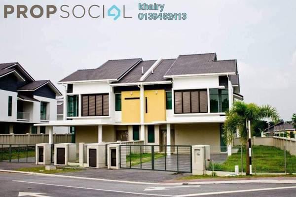 Semi-Detached For Sale in Pearl @ Enstek, Bandar Enstek Freehold Unfurnished 6R/5B 970k