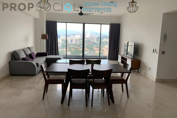 Condominium For Rent in KL Trillion, KLCC Freehold Fully Furnished 3R/3B 4.8k