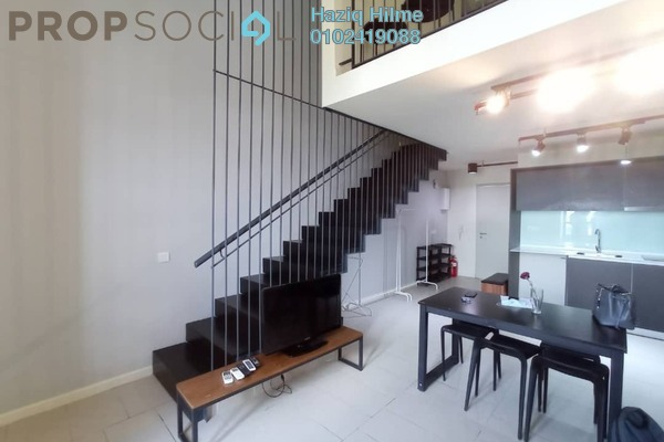 For Rent Duplex at Tamarind Suites, Cyberjaya Freehold Fully Furnished 1R/2B 1.4k