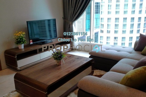 For Rent Condominium at Soho Suites, KLCC Freehold Fully Furnished 1R/1B 2.5k