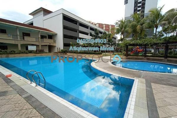 Condominium For Sale in Bayu Tasik 2, Bandar Sri Permaisuri Freehold Semi Furnished 3R/2B 340k