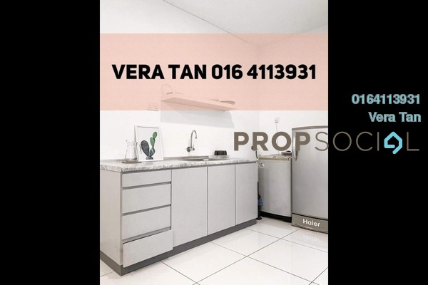 SoHo/Studio For Rent in Mansion One, Georgetown Freehold Fully Furnished 1R/2B 1.3k
