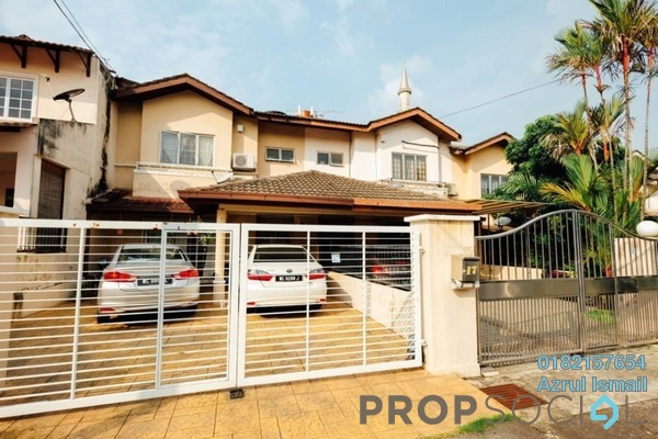 For Sale Terrace at SD8, Bandar Sri Damansara Freehold Fully Furnished 4R/3B 950k
