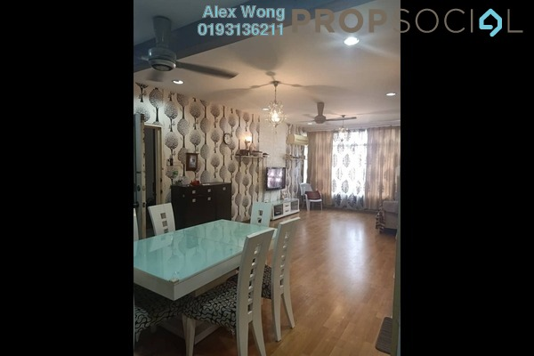 Condominium For Sale in Le Chateau, Seputeh Freehold Fully Furnished 3R/2B 369k