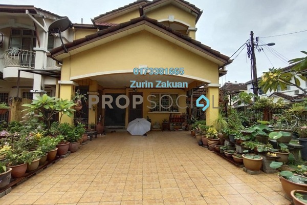 Terrace For Sale in USJ 18, UEP Subang Jaya Freehold Semi Furnished 5R/3B 1.2m