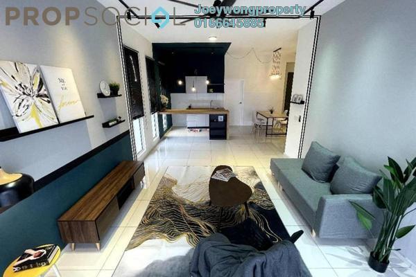 Condominium For Sale in Elevia Residences, Bandar Puchong Utama Freehold Semi Furnished 4R/3B 600k