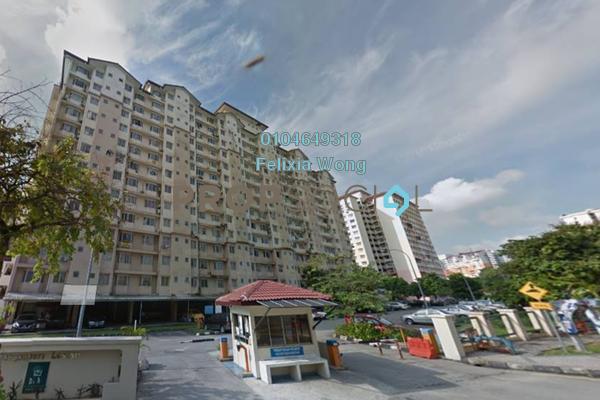 Apartment For Sale in Lestari Apartment, Bandar Sri Permaisuri Freehold Semi Furnished 3R/2B 295k