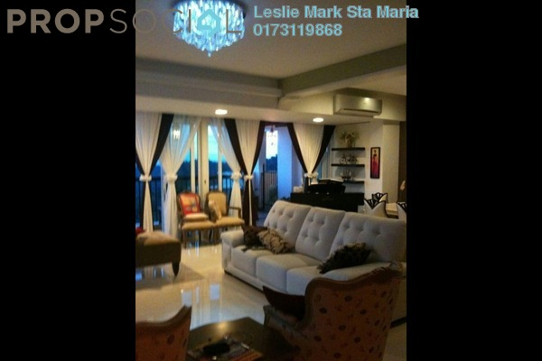 Serviced Residence For Sale in Armanee Terrace I, Damansara Perdana Freehold Fully Furnished 4R/3B 1.2m