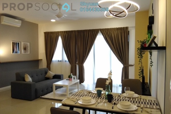 For Rent Serviced Residence at Novum, Bangsar South Freehold Fully Furnished 2R/2B 4.5k