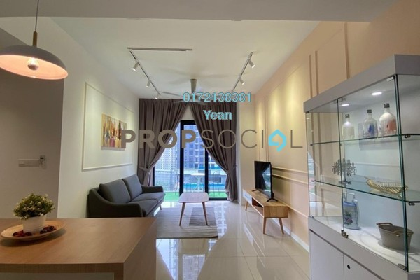 For Rent Condominium at Novum, Bangsar South Freehold Fully Furnished 2R/2B 3.5k