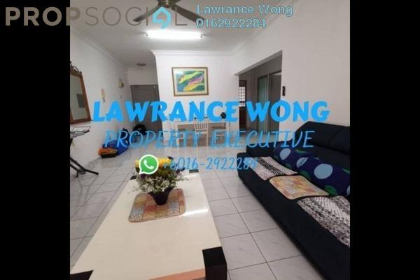 For Rent Condominium at Endah Ria, Sri Petaling Freehold Fully Furnished 3R/2B 1.5k